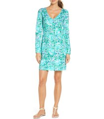 women's lilly pulitzer davie floral long sleeve dress