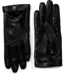 women's mackage gabia lambskin leather tech gloves