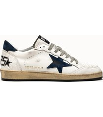 golden goose deluxe brand sneakers ball star colore bianco blu