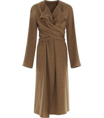 lemaire knotted coat
