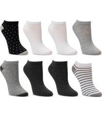 cuddl duds 8-pk. low-cut socks