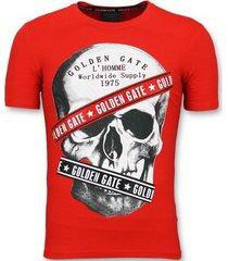 t-shirt korte mouw enos rode glitter