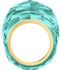 anel feminino nirvana em metal - ouro