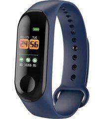 frecuencia cardíaca inteligente paso información pulsera relojes depor