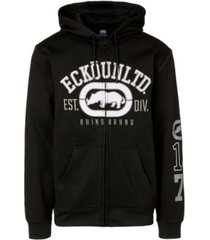 ecko unltd men's rhino remains full zip hoodie