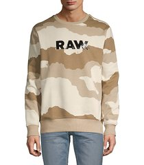 graphic cotton-blend sweatshirt