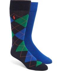 men's polo ralph lauren cotton blend socks