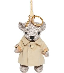 burberry thomas trench coat bag charm -