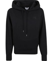 kenzo classic fit hoodie k logo