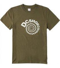 t-shirt korte mouw dc shoes camiseta manga corta hombre adyzt04941