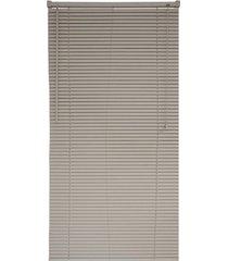 persiana horizontal pvc block 220x80cm bege