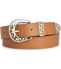 cinturón suela briganti mujer gant