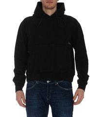 c2h4 metal tag hoodie