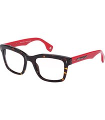 armação de óculos kristian olsen denmark ko7341-4-rx vermelho