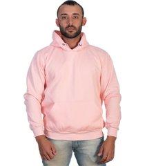 casaco moletom blusa de frio selten rosa - kanui