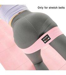 1 pcs látex antideslizante anillo elástico de cadera sentadilla fitnes