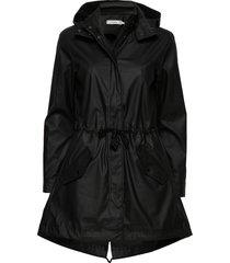 sc-alexa outerwear rainwear rain coats svart soyaconcept