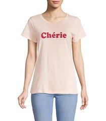 cherie graphic t-shirt