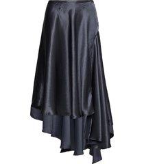 kara skirt knälång kjol blå ahlvar gallery