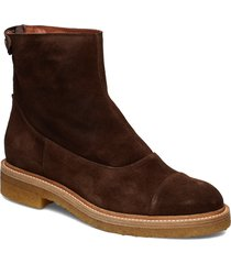 boots 3530 shoes boots ankle boots ankle boot - flat brun billi bi