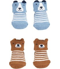 carter's baby boy 2-pack keepsake booties