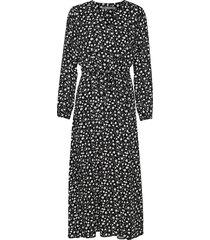 bygagine dress knälång klänning svart b.young