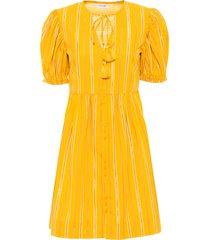 abito con maniche a palloncino (giallo) - bodyflirt