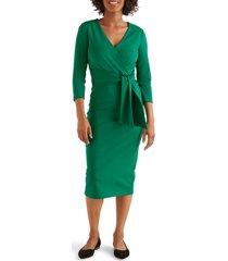women's boden sophie ponte sheath dress