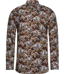 8207 - iver overhemd casual multi/patroon sand