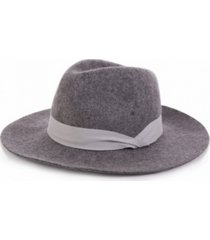 glitzhome wool fedora ribbon hat