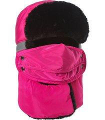 unisex passamontagna pesante calda impermeabile riflettente antiventosa da sciare con completa protezione chullo con maschera