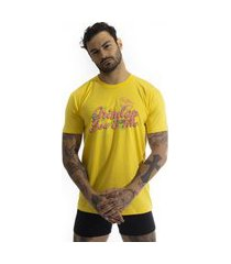 camiseta arimlap you and me amarelo
