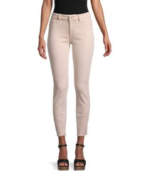dl1961 women's florence mid-rise ankle jeans - camellia - size 27 (4)