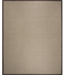 safavieh natural fiber sage and brown 9' x 12' sisal weave area rug