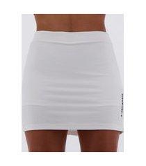 short saia head sport feminino branco