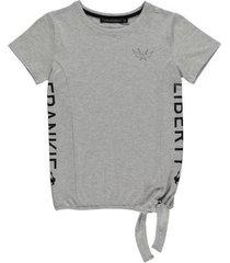 frankie & liberty lichtgrijs t-shirt jaklyn