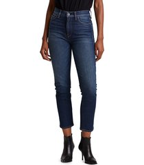 hudson women's holly high-rise straight jeans - impromptu - size 25 (2)