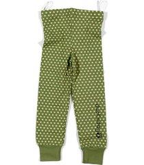 piżama funky green dół