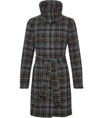 inwear 30104503 zeolaiw zip coat black/grey check