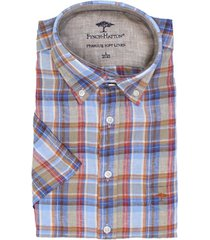 fynch-hatton fynch-hatton short sleeve linnen overhemd