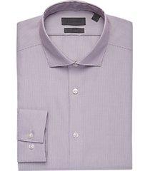 calvin klein infinite wine stripe slim fit dress shirt