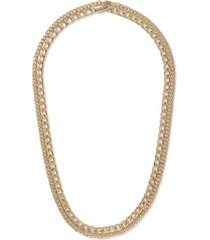 mens gold layered necklace*