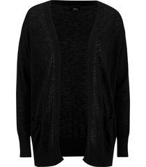 cardigan con tasche (nero) - bpc bonprix collection