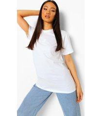 geborduurd zon t-shirt, white