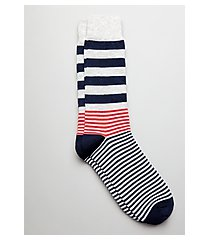 jos. a. bank mixed stripe socks, 1-pair