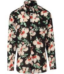 bloemenprint overhemd