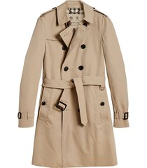 burberry the chelsea - long trench coat - neutrals