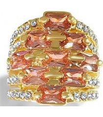 anillo champagne casual amarillo arany joyas