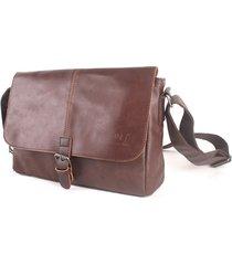 pu business vintage messenger borsa casual crossbody shoulder borsa sling borsa per gli uomini