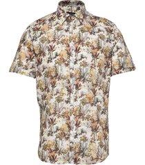 8615 - iver st overhemd met korte mouwen multi/patroon sand